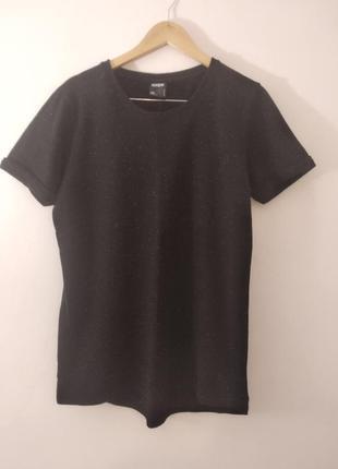 Удлиненная футболка двунить l