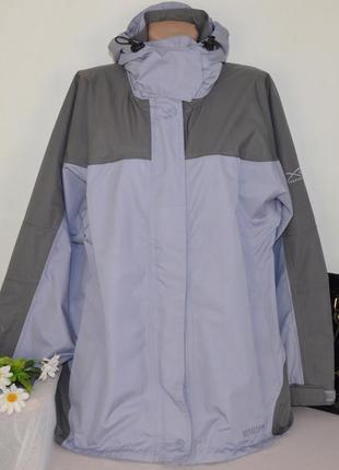 Брендовая водонепроницаемая куртка на молнии с капюшоном regatta x-ert isotex этикетка