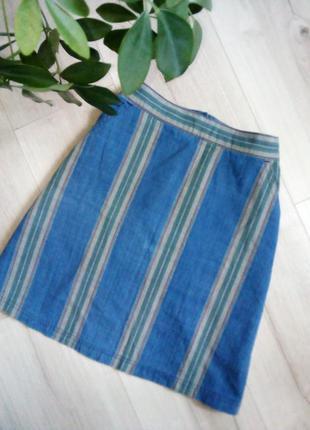 Отличная юбочка в полоску на каждый день