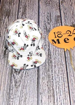 Фирменная кепка h&m для мальчика 18-24 месяцев, 48-50 см