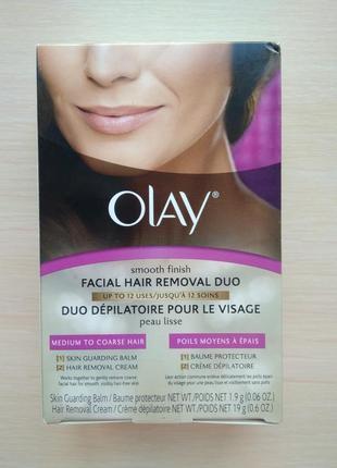 Olay крем гель для депиляции нежелательных волос на лице усиков сша для удаления волос