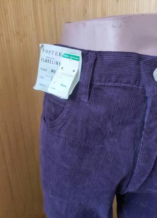 Велюровые брюки высокая посадка foster4