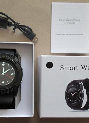 Смарт часы v8 умные часы smart watch v8