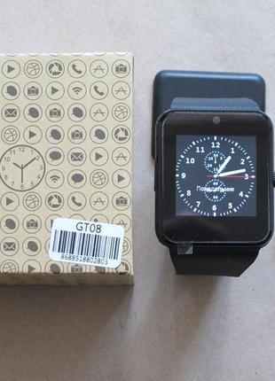 Смарт часы gt08 умные часы smart watch gt08