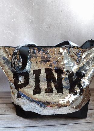 Сумка victorias secret pink