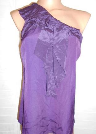 Красивая и нежная блузка на молнии
