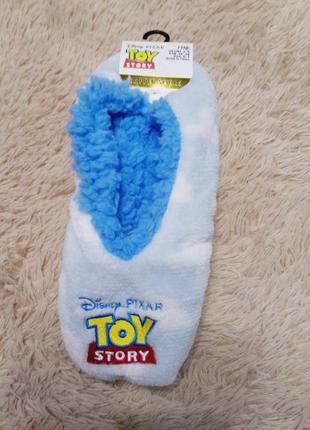 Тапочки следочки, тапочки носочки для поклонников истории игрушек disney