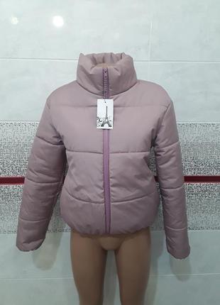 Очень красивая куртка оверсайз на резинке