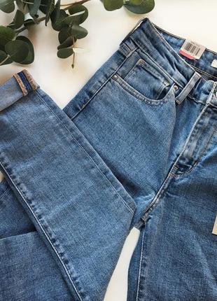 Levis 721 оригинал джинсы зауженные 26