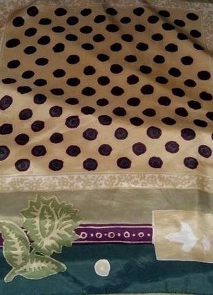 Стильный шелковый платок бренда esprit  оригинал