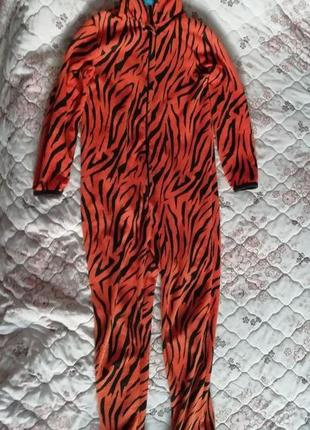Карнавальный новогодний костюм тигра primark на 11-12лет