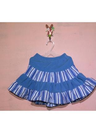 Теплая юбка, рост 92-98