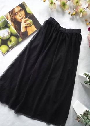 Хитовая фатиновая юбка