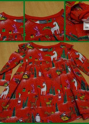 Next платье 3-6 мес 2018 года. сукня