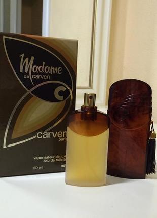 Духи винтажные carven madame de carven , тв 30 мл