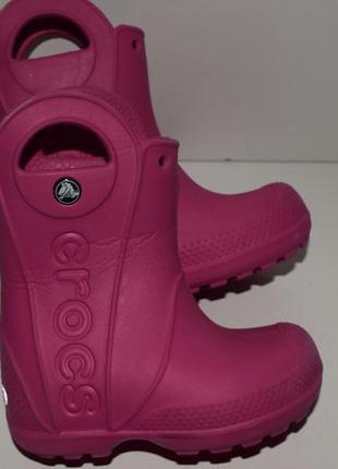 Сапоги кроксы c7,24р crocs