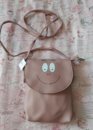 Отличная сумочка цвета чайной розы