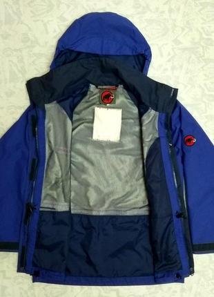 Водо/ветрозащитная мембранная женская куртка ветровка mammut gore-tex