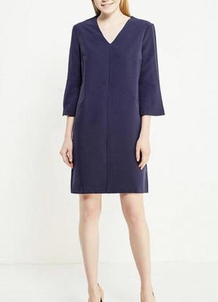 Элегантное платье modis темно-синего цвета