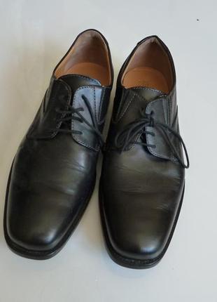 Кожаные туфли geox respira, р 43