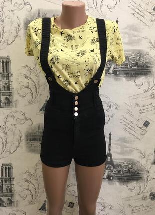 Крутые шорты корсет комбинезон tally weijl2 фото