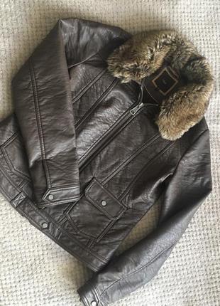 Куртка «кожан» next p.12 экокожа