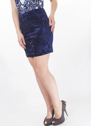 Sale юбка короткая велюр esmara