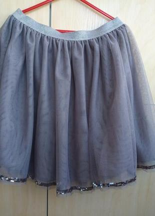 Фатиновая юбка john lewis на 10 лет