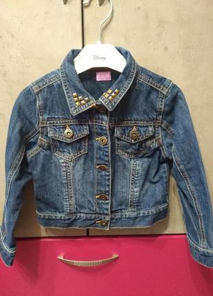 Джинсовый пиджак f&f tesco