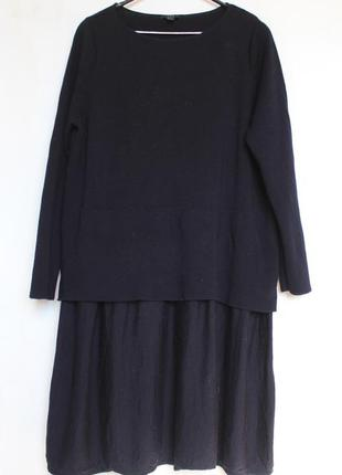 Cos шерстяное платье oversize