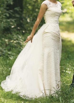 Свадебное платье victoria soprano модель eveline