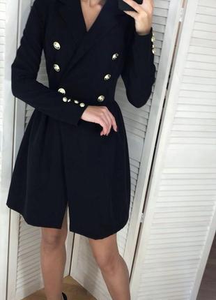 Трендовое платье-пиджак1 фото
