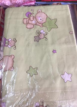 Комплект детского постельного белья хлопок