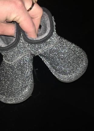 Угги ( ботинки) h&m 18/19 11.7см