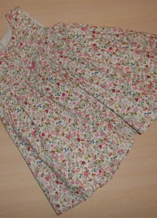 Нарядное пышное платье, сарафан mothercare 6-9 мес, 68-74 см, оригинал