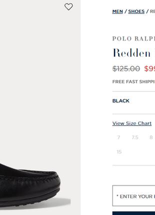 """Черные туфли мокасины драйверы  """"polo ralph lauren"""", оригинал сша"""