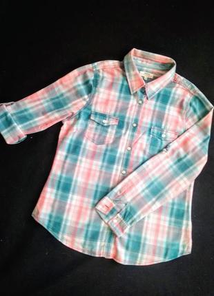 Рубашка с рукавами трансформер.