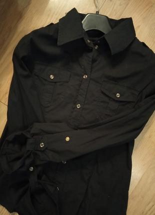 Pierre cardin рубашка черная