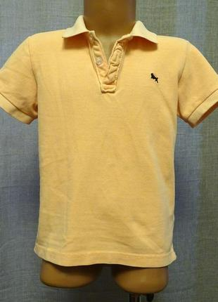 Поло (футболка) на хлопчика 4-6 років 110/116