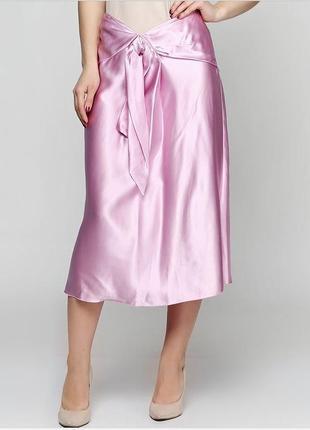 Новая шелковая юбка
