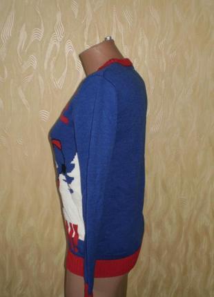 Новогодний свитер, свитшот  dudes (дудес) музыкальный рост 152-1583 фото