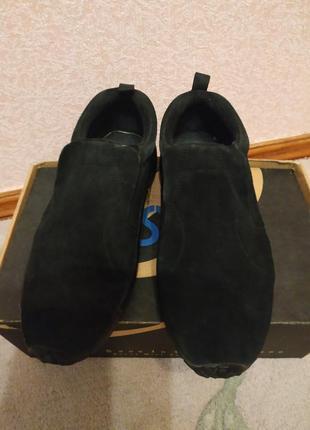 Туфли кроссовки натуральная замша 40