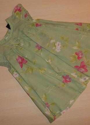 Летнее платье, сарафан next катон, 0-3 мес. 62 см оригинал