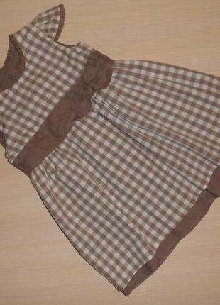 Нарядное платье, сарафан mothercare 0-3 мес 62 см оригинал