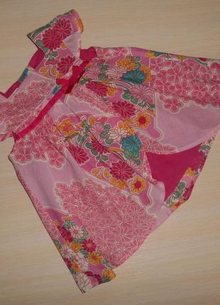 Нарядное платье,сарафан monsoon, 0-3 мес, 62 см, оригинал