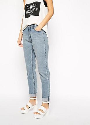 Самые идеальные джинсы мом от cheap monday 💙