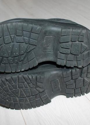 Ботинки кроссовки разм 32 marks & spenser кожа4 фото