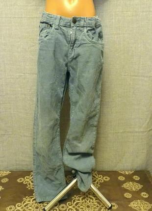 Вельветові штани  (штаны) для хлопчика 👖 по бірці 10-11 років, на зріст 146 см.