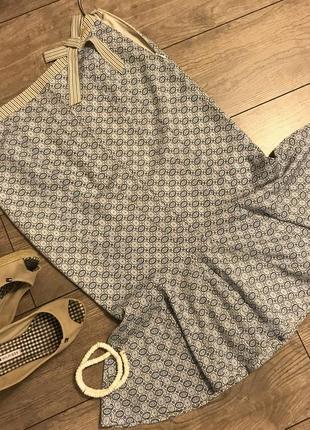 Шелковая юбка tommy hilfiger