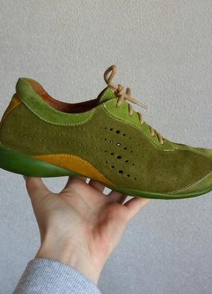 Р.37 think! (оригинал) замшевые кроссовки.